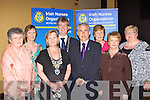 Killarney Mayor with members of the Irish Nurses Organistation at the Killarney UDC civic reception in their honour at the INEC on Thursday night l-r: Kay Craughwell, Evelyn Gallagher, Sheila Dickson INO President, Patrick O'Donoghue Killarney Mayor, Liam Doran General Secretary, Ita O'Dwyer, Pearl O'Connell and Anne Cody