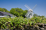 Jamestown Windmill, 1787. Jamestown, Narragansett Bay, RI, USA