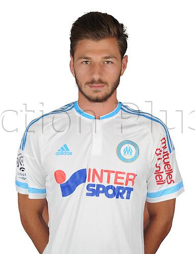16.09.2015. Marseille, France.  2015 French League 1 Football Official Portraits 2015-16 season Marseille.  SPARAGNA  Stephane
