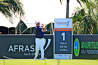 Darren Clarke (NIR) in action during the first round of the Afrasia Bank Mauritius Open played at Heritage Golf Club, Domaine Bel Ombre, Mauritius. 30/11/2017.<br /> Picture: Golffile | Phil Inglis<br /> <br /> <br /> All photo usage must carry mandatory copyright credit (&copy; Golffile | Phil Inglis)