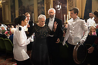 Glenn Close as Joan and Jonathan Pryce as Joe in The Wife (2017)<br /> *Filmstill - Editorial Use Only*<br /> CAP/RFS<br /> Image supplied by Capital Pictures