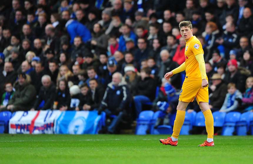 Preston North End&rsquo;s Adam Reach<br /> <br /> Photographer Chris Vaughan/CameraSport<br /> <br /> Football - The FA Cup Third Round - Peterborough United v Preston North End - Saturday 9th January 2016 - ABAX Stadium - Peterborough <br /> <br /> &copy; CameraSport - 43 Linden Ave. Countesthorpe. Leicester. England. LE8 5PG - Tel: +44 (0) 116 277 4147 - admin@camerasport.com - www.camerasport.com
