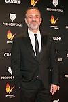 Javier Gutierrez attends the Feroz Cinema Awards 2015 at Las Ventas, Madrid,  Spain. January 25, 2015.(ALTERPHOTOS/)Carlos Dafonte)