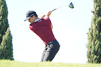 Haydn Porteous (RSA) during Round 3 of the Portugal Masters, Dom Pedro Victoria Golf Course, Vilamoura, Vilamoura, Portugal. 26/10/2019<br /> Picture Andy Crook / Golffile.ie<br /> <br /> All photo usage must carry mandatory copyright credit (© Golffile   Andy Crook)