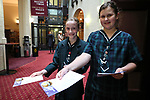 St Cuthbert's Carol Service, Auckland Town Hall, Auckland, Monday 3 December 2018. Photo: Simon Watts/www.bwmedia.co.nz