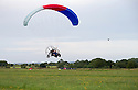 01/07/15<br /> <br /> Injured veteran David Chambers (back seat) is flown by Neil Laughton - landing at Darley Moor.<br />  <br /> <br /> *** FULL STORY HERE: <br /> http://www.fstoppress.com/articles/flying-for-heroes/  ***<br /> <br /> A special aircraft adapted to be flown by wounded, injured and sick servicemen took to the skies for the first time above Britain today.<br /> <br /> The two-seater para-trike is one of three similar aircraft operated by Flying For Heroes that are currently based at Darley Moor Airfield, Ashbourne, Derbyshire.<br /> <br /> Ten wounded servicemen took to the controls of this, and many other aircraft, during a two-day flying training camp hosted by Airways Airsports.<br /> <br /> *** FULL STORY HERE:  http://www.fstoppress.com/articles/flying-for-heroes/  ***<br /> <br /> All Rights Reserved: F Stop Press Ltd. +44(0)1335 418629   www.fstoppress.com.