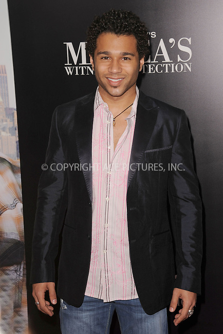 WWW.ACEPIXS.COM . . . . . .June 25, 2012...New York City....Corbin Bleu arriving to Tyler Perry's 'Madea's Witness Protection' New York Premiere at AMC Lincoln Square Theater on June 25, 2012 in New York City ....Please byline: KRISTIN CALLAHAN - ACEPIXS.COM.. . . . . . ..Ace Pictures, Inc: ..tel: (212) 243 8787 or (646) 769 0430..e-mail: info@acepixs.com..web: http://www.acepixs.com .