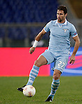 Calcio, Europa League: Lazio vs Panathinaikos. Roma, stadio Olimpico, 8 novembre 2012..Lazio midfielder Lorik Cana, of Kosovo, in action during the Europa League Group J football match between Lazio and Panathinaikos, at Rome's Olympic stadium, 8 november 2012..UPDATE IMAGES PRESS/Riccardo De Luca