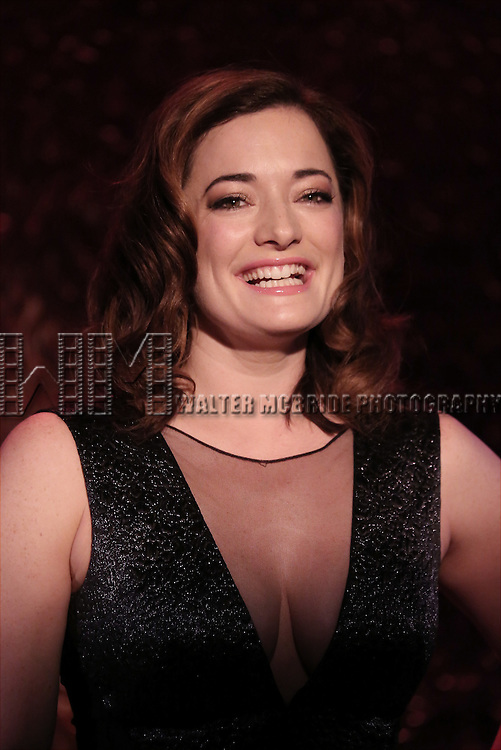 Laura Michelle Kelly during her Feinsteins/54 Below Press Preview at Feinsteins/54 Below on April 7, 2016 in New York City.
