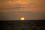 FL: Florida Everglades National Park,.Sunset at Flamingo.Photo Copyright: Lee Foster, lee@fostertravel.com, www.fostertravel.com, (510) 549-2202.Image: flever223