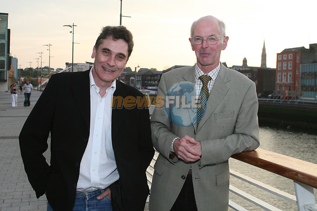 Mick Mccarthy and Paul Lapin at the Drogheda Chamber of Commerce Summer Event in the D Hotel...Photo NEWSFILE/Jenny Matthews.(Photo credit should read Jenny Matthews/NEWSFILE)....This Picture has been sent you under the condtions enclosed by:.Newsfile Ltd..The Studio,.Millmount Abbey,.Drogheda,.Co Meath..Ireland..Tel: +353(0)41-9871240.Fax: +353(0)41-9871260.GSM: +353(0)86-2500958.email: pictures@newsfile.ie.www.newsfile.ie.FTP: 193.120.102.198.