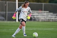 Piscataway, NJ - Saturday Aug. 27, 2016: Alyssa Naeher during a regular season National Women's Soccer League (NWSL) match between Sky Blue FC and the Chicago Red Stars at Yurcak Field.