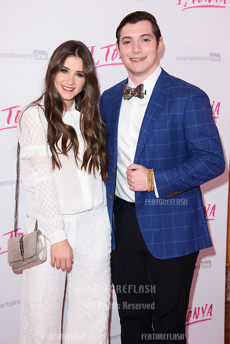 "Brooke Vincent & Matej Silecky at the ""I, Tonya"" premiere at the Curzon Mayfair, London, UK. <br /> 15 February  2018<br /> Picture: Steve Vas/Featureflash/SilverHub 0208 004 5359 sales@silverhubmedia.com"