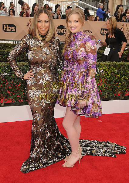 30 January 2016 - Los Angeles, California - Diana Madison, Kylie Hart. 22nd Annual Screen Actors Guild Awards held at The Shrine Auditorium.      <br /> CAP/ADM/BP<br /> &copy;BP/ADM/Capital Pictures