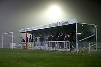 Hornchurch fans look on during Chelmsford City vs AFC Hornchurch, BBC Essex Senior Cup Football at Melbourne Park on 4th February 2019