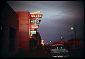 City street - Walsh Hotel - Alamosa.<br /> Alamosa, CO