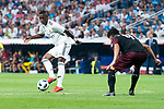 Real Madrid Vinicius Jr. during Santiago Bernabeu Trophy match at Santiago Bernabeu Stadium in Madrid, Spain. August 11, 2018. (ALTERPHOTOS/Borja B.Hojas)