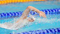 Wales' Ellena Jones competes in the women's 4x200m freestyle final <br /> <br /> Photographer Chris Vaughan/CameraSport<br /> <br /> 20th Commonwealth Games - Day 3 - Saturday 26th July 2014 - Swimming - Tollcross International Swimming Centre - Glasgow - UK<br /> <br /> © CameraSport - 43 Linden Ave. Countesthorpe. Leicester. England. LE8 5PG - Tel: +44 (0) 116 277 4147 - admin@camerasport.com - www.camerasport.com