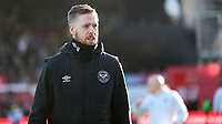 Pontus Jansson of Brentford during Brentford vs Middlesbrough, Sky Bet EFL Championship Football at Griffin Park on 8th February 2020