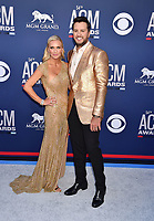 LAS VEGAS, CA - APRIL 07: Caroline Boyer (L) and Luke Bryan attend the 54th Academy Of Country Music Awards at MGM Grand Hotel &amp; Casino on April 07, 2019 in Las Vegas, Nevada.<br /> CAP/ROT/TM<br /> &copy;TM/ROT/Capital Pictures