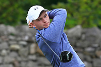 Liam Nolan (Galway) on the 4th tee during the Final of the Barton Shield in the AIG Cups & Shields Connacht Finals 2019 in Westport Golf Club, Westport, Co. Mayo on Saturday 10th August 2019.<br /> <br /> Picture:  Thos Caffrey / www.golffile.ie<br /> <br /> All photos usage must carry mandatory copyright credit (© Golffile | Thos Caffrey)
