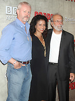 August 14, 2012 David Morse, Gloria Reuben, Tom Fontana, at a premiere of BBC America's Copper at the Museum of Modern Art in New York City. © RW/MediaPunch Inc.