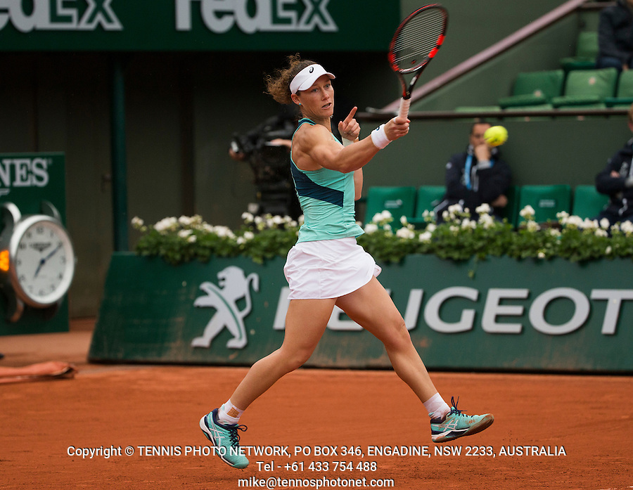 SAMANTHA STOSUR (AUS)<br /> <br /> TENNIS - FRENCH OPEN - ROLAND GARROS - ATP - WTA - ITF - GRAND SLAM - CHAMPIONSHIPS - PARIS - FRANCE - 2016  <br /> <br /> <br /> <br /> &copy; TENNIS PHOTO NETWORK