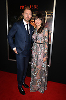 Scott Haze &amp; Erin Darke at the premiere for &quot;Thank You For Your Service&quot; at the Regal LA Live Theatre. Los Angeles, USA 23 October  2017<br /> Picture: Paul Smith/Featureflash/SilverHub 0208 004 5359 sales@silverhubmedia.com