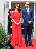 Prince William and Kate visit Berlin