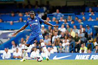 Fikayo Tomori of Chelsea in action during the Premier League match between Chelsea and Sheff United at Stamford Bridge, London, England on 31 August 2019. Photo by Carlton Myrie / PRiME Media Images.