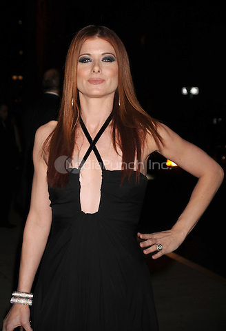 Debra Messing arriving to the Fashion Group International's 25th Annual Night of Stars at Cipriani Wall Street in New York City. October 23, 2008. Credit: Dennis Van Tine/MediaPunch