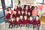 The junior infants class enjoying their first week of school at Athea National School were front l-r: Cillian O'Connor, james Broderick, Rory Cleary, Evan Curry, Conor Fitzgerald and Callum Buckley. M l-r: Luke Leahy, Chloe Kenrick, Molly Keily, Ellen Smith, Clodagh Scanlon, Aishling Donovan and Miss Ann Marie Nash. B l-r: Bridget Sheehy(SNA), Calum Gleeson, Rebecca Broderick, Aoife Missorici and Dylan Steward..