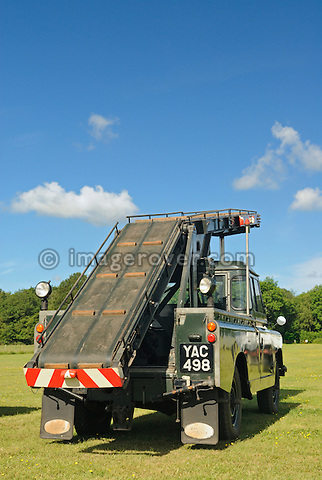 Series 2a for working at the airfield. Dunsfold Collection Open Day 2009. NO RELEASES AVAILABLE.