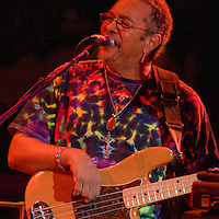 George Porter Jr. performing with 7 Walkers in Concert in The Wolfs Den at Mohegan Sun Casino on December 9, 2010