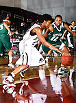 Alabama A&M Bulldogs guard Whiquitta Tobar (23) in action during the SWAC Tournament game between theMississippi Valley State Devilettes and the Alabama A&M Bulldogs at the Special Events Center in Garland, Texas. Mississippi Valley State defeats Alabama A & M 52 to 51