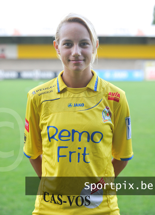 Waasland Beveren Sinaai Girls : Stephanie Ehlen.foto Vrouwenteam.be / David Catry