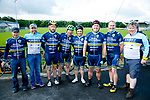 At the Emmett's Scenic Challenge Sportive Cycle in Listowel were David Collins, Joe Hassett, James O'Rourke, Mike McCarthy, Eddie Burrows, Con Lynch, Mark Nolan, Dominic Maloney
