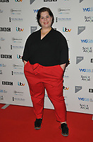 LONDON, ENGLAND - JANUARY 13: Katy Brand at the Writers' Guild of Great Britain Awards 2020, Royal College of Physicians, St Andrews Place, Regent Park on Monday 13 January 2020 in London, England, UK. <br /> CAP/CAN<br /> ©CAN/Capital Pictures
