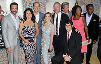 "HOLLYWOOD, LOS ANGELES, CA, USA - MARCH 24: Reid Scott, Julia Louis-Dreyfus, Tony Hale, Anna Chlumsky, Matt Walsh, Timothy Simons, Gary Cole, Sufe Bradshaw, Isiah Whitlock, Jr. at the Los Angeles Premiere Of HBO's ""Veep"" 3rd Season held at Paramount Studios on March 24, 2014 in Hollywood, Los Angeles, California, United States. (Photo by Xavier Collin/Celebrity Monitor)"