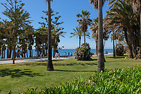 Promenade, paseo maritimo, San Pedro de Alcantarra, Marbella, Spain, May, 2017, 201705013560.<br />
