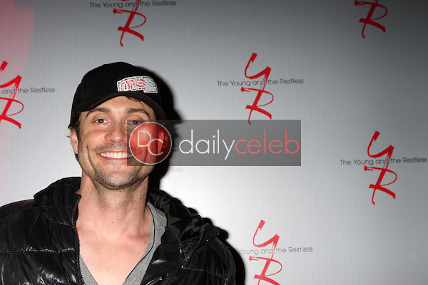 Daniel Goddard<br /> at the Young and Restless 41st Anniversary Cake, CBS Television City, Los Angeles, CA 03-25-14<br /> David Edwards/DailyCeleb.com 818-249-4998