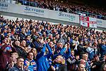 28.04.2019 Rangers v Aberdeen: Lee Wallace gets a standing ovation