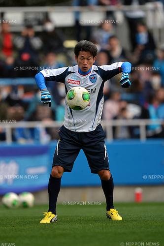 Kazuyoshi Miura (Yokohama FC),.MARCH 10, 2013 - Football /Soccer : 2013 J.LEAGUE Division 2 ,2nd sec match between Yokohama FC 2-2 Tokushima Vortis at NHK Spring Mitsuzawa Football Stadium, Kanagawa, Japan. (Photo by Jun Tsukida/AFLO SPORT) [0003].