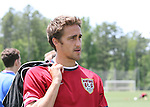 Josh Wolff on Wednesday, May 17th, 2006 at SAS Soccer Park in Cary, North Carolina. The United States Men's National Soccer Team held a training session as part of their preparations for the upcoming 2006 FIFA World Cup Finals being held in Germany.