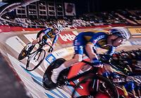 Iljo Keisse (BEL/Deceuninck-QuickStep) & Mark Cavendish (GBR)<br /> <br /> 500m TT<br /> zesdaagse Gent 2019 - 2019 Ghent 6 (BEL)<br /> day 3<br /> <br /> ©kramon