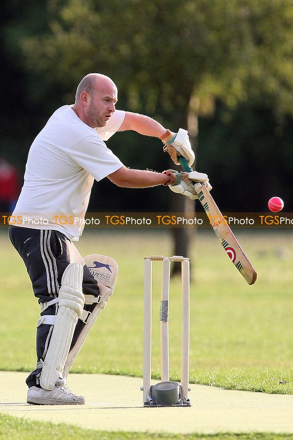 Martians CC (batting) vs Pumas CC - Victoria Park Community Cricket League - 13/06/11 - MANDATORY CREDIT: TGSPHOTO - Self billing applies where appropriate - Tel: 0845 094 6026