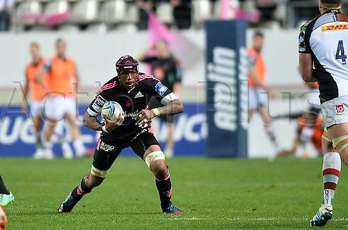 04.04.2014. Paris, France. Amlin Challenge Cup Rugby. Stade Francais versus Harlequins.  Olivier Missoup (sf)