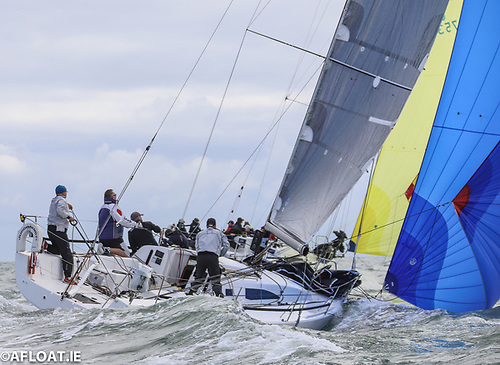 Andrew Algeo's Juggerknot II - racing fully crewed for the first time in the Coastal Series