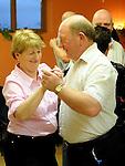 Michael O'Brien and Bernie Weldon pictured at the annual Teach Raithneach ceilí. Photo: Colin Bell/pressphotos.ie