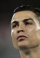 Calcio, Serie A: Fiorentina - Juventus, stadio Artemio Franchi Firenze 1 dicembre 2018.<br /> Juventus' Cristiano Ronaldo looks on prior to the Italian Serie A football match between Fiorentina and Juventus at Florence's Artemio Franchi stadium, December 1, 2018.<br /> UPDATE IMAGES PRESS/Isabella Bonotto